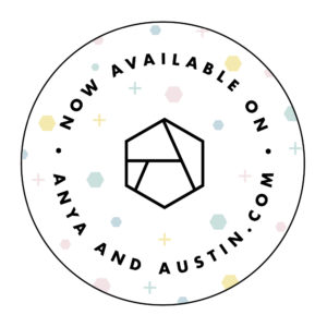 Now available on Anya & Austin badge