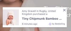 Tiny Chipmunk Sales Pop Screenshot