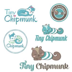 Tiny Chipmunk alternative logos