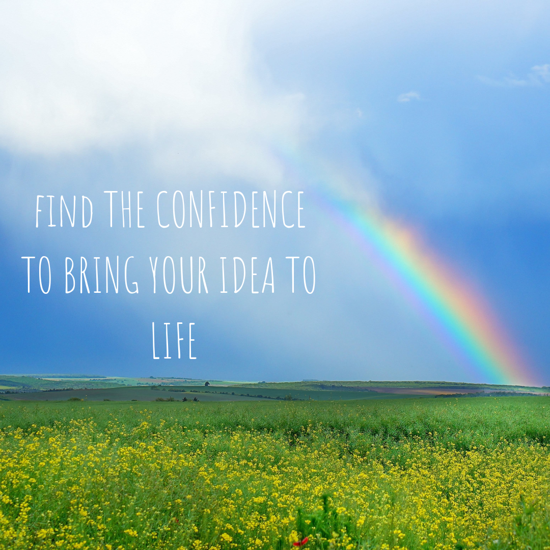 How to get the confidence to create a product to sell