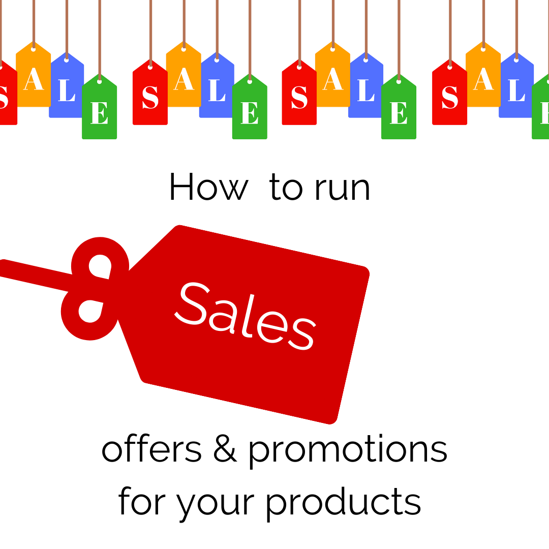 The beginners guide to running discounts and promotions for your products