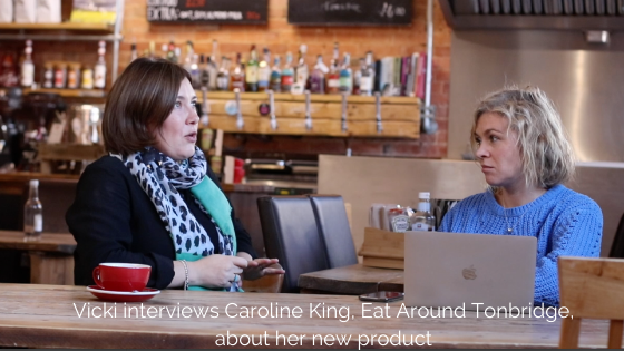 How Caroline turned her local food blog into a range of products