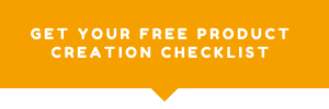 Link to Product creation checklist