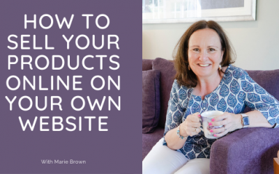 How to sell your products online on your own website