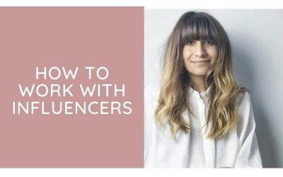 How to work with influencers